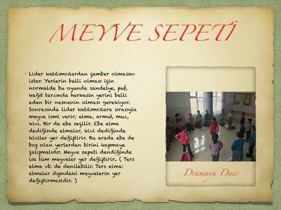 Zeynep Ceylan Adli Kullanicinin Drama Panosundaki Pin Drama Oyun Teorisi Sinif Idaresi