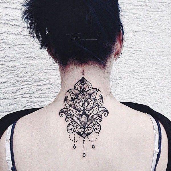 Tatuajes En La Nuca De Mujer