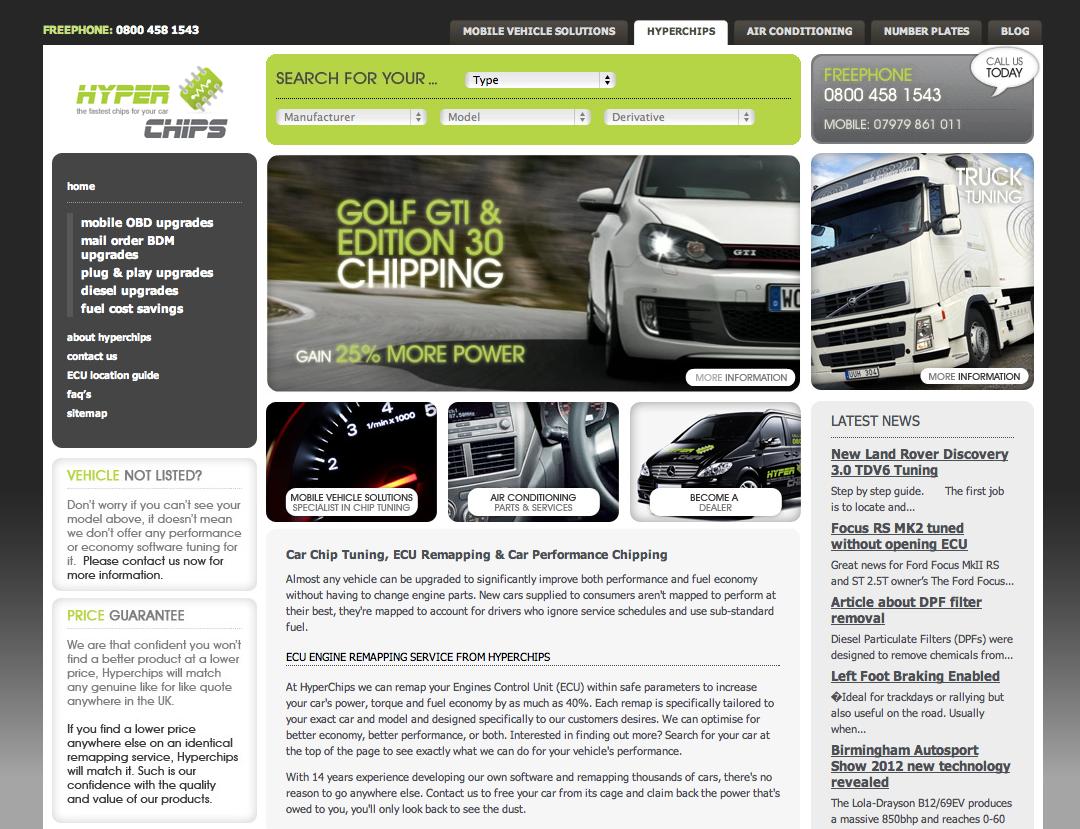 Diesel Tuning ECU Remapping  www hyperchips co uk | Car