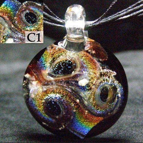 Memorial Glass Cremation Jewelry Crisanti Glass Remembrance