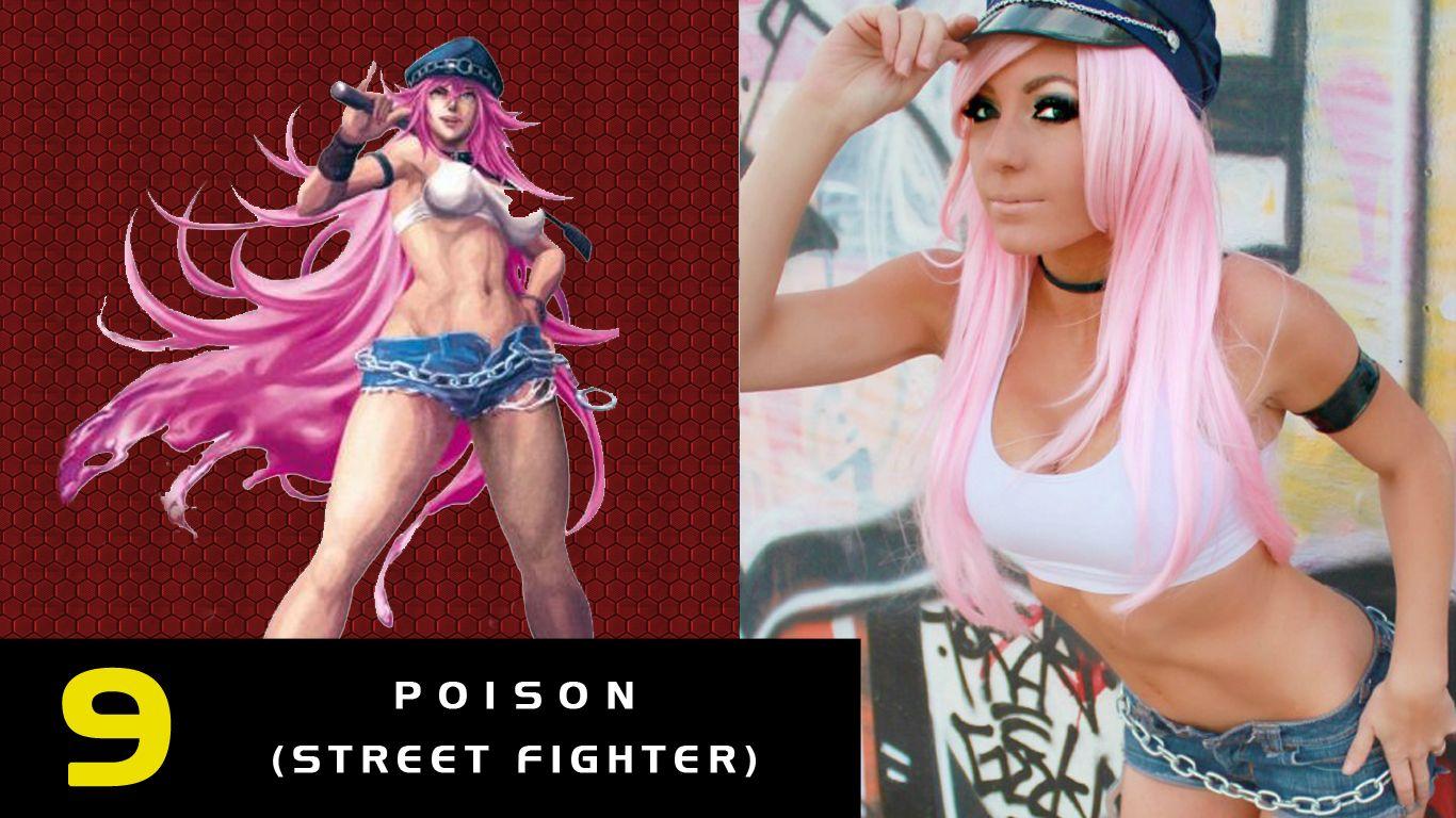 9- Poison de Street Fighter