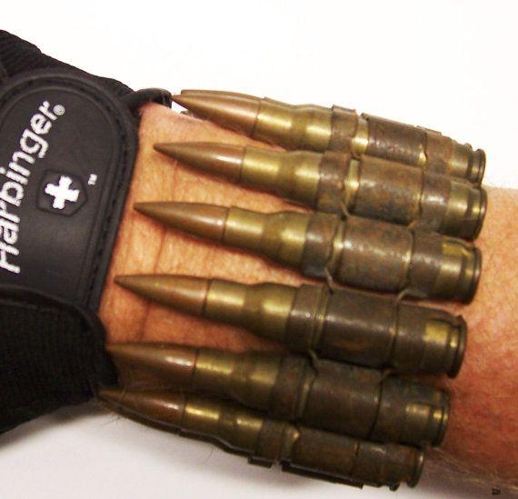 Cuff Bracelet Body Armor Bullet Bracelet Trench Jewelry Etsy Bullet Bracelets Steampunk Armor Body Armor