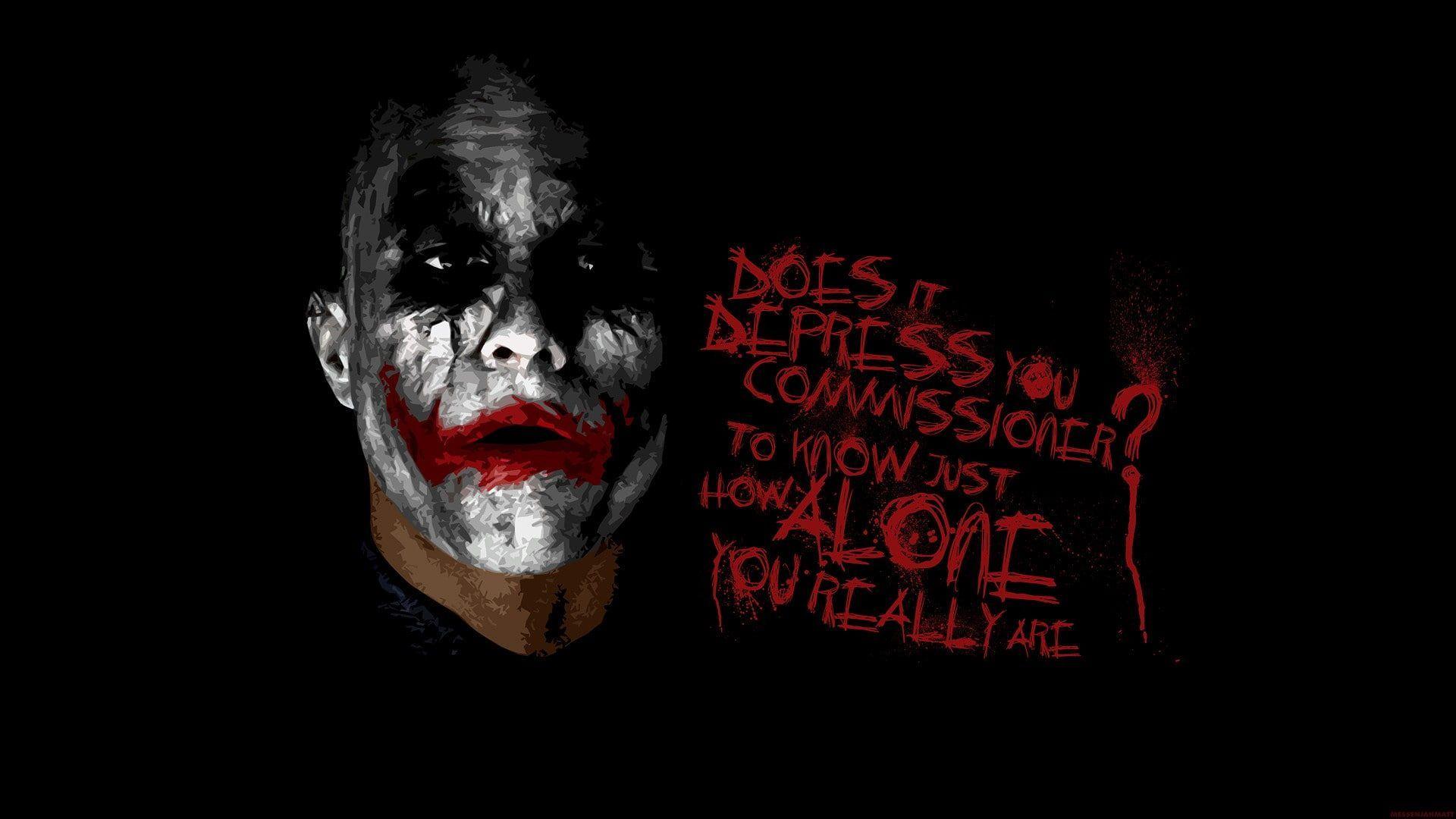 Heath Ledger Joker Wallpaper Anime Joker Typography Messenjahmatt The Dark Knight 1080p Joker Wallpapers Batman Joker Wallpaper Joker Images Hd 1080p dark knight joker wallpaper