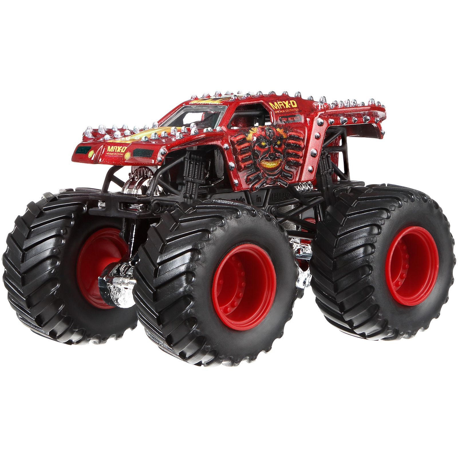 Image For Hw Mj Max D Red From Mattel With Images Monster