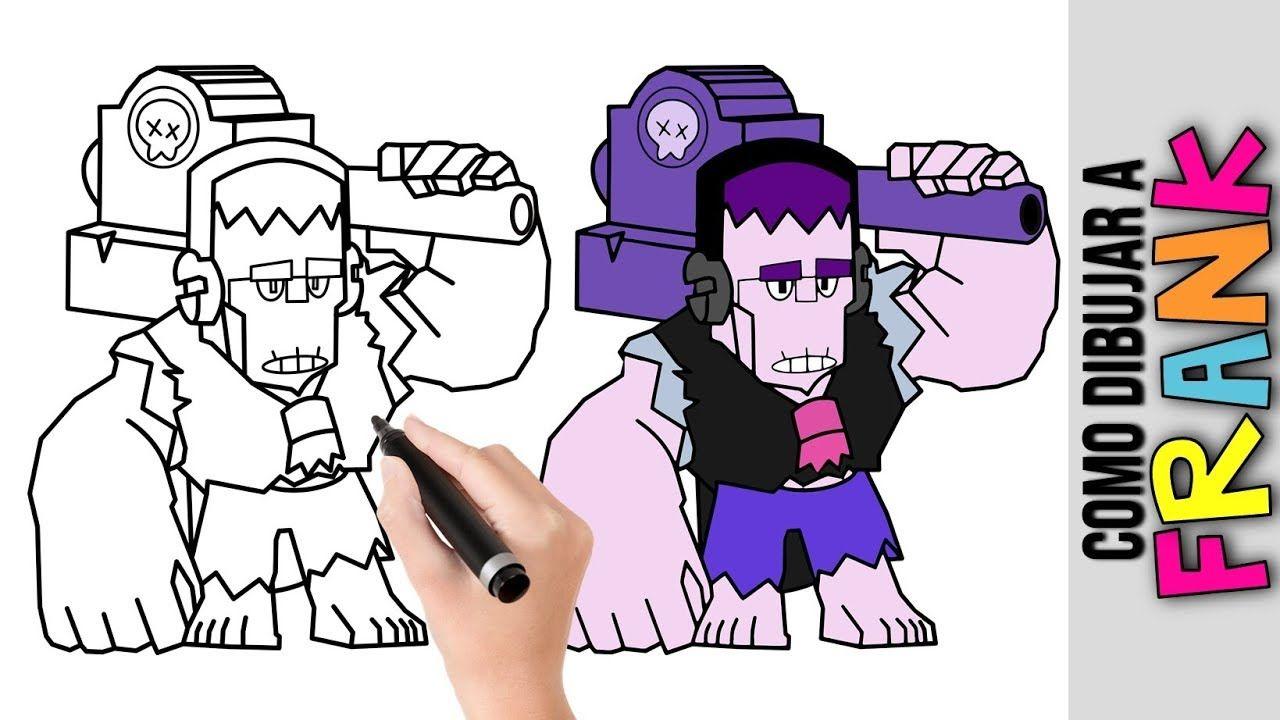 Como Dibujar A Frank De Brawl Stars Dibujos Fáciles Para Dibujar