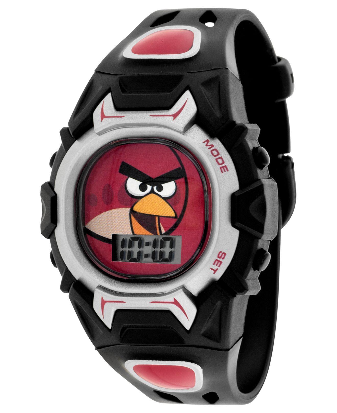 Angry Birds Kids Watch Boys or Little Boys LCD Watch Kids