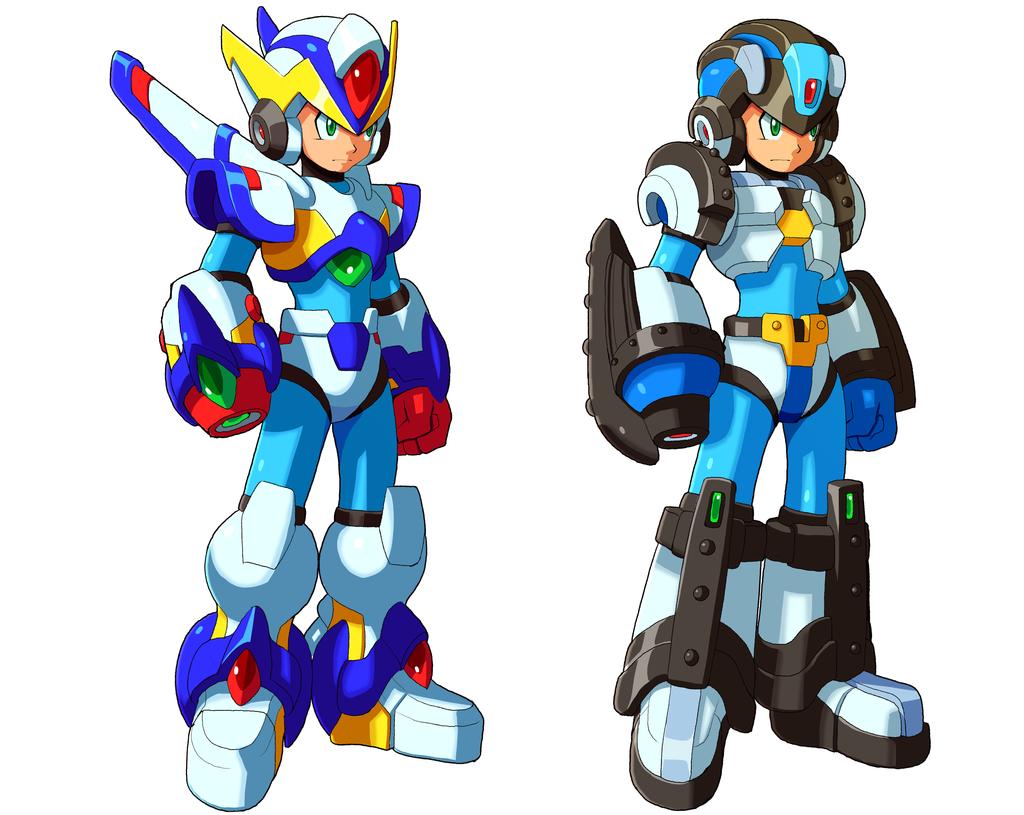Rockman X Full Armor Buscar Con Google Mega Man Art Mega Man Armor