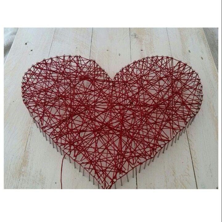Dieses Herz Aus Nägel Un Faden Habe Ich Für Eine Freundin Von Mir