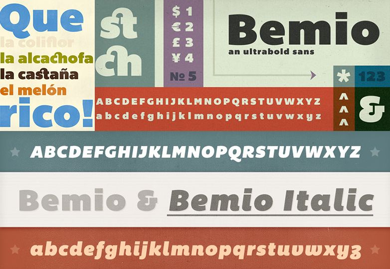 101 fonts - Clube do Design