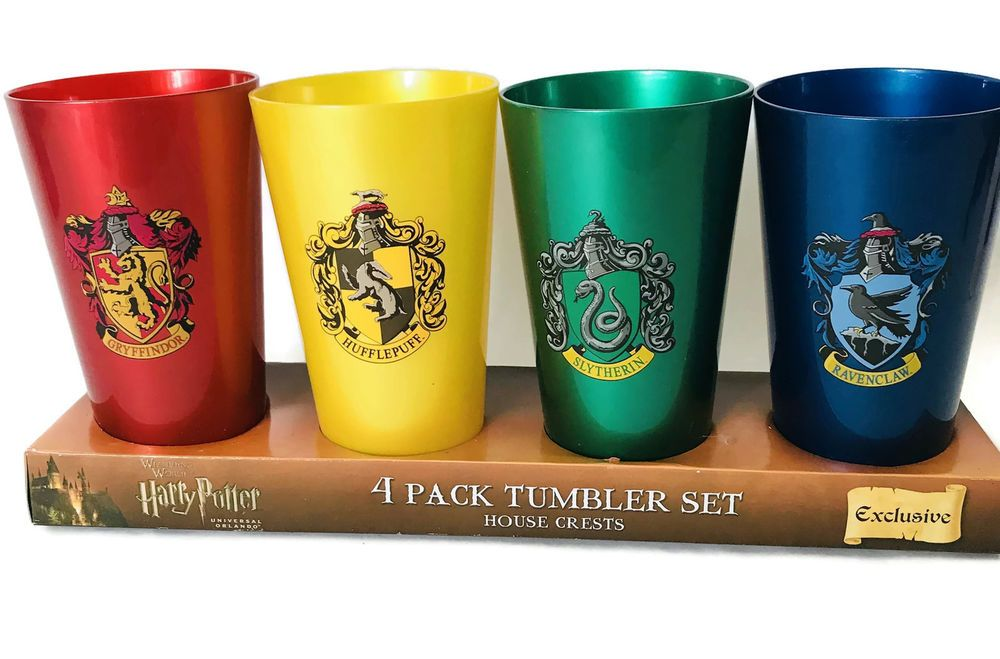 Harry Potter Cups  Harry Potter Houses Cups