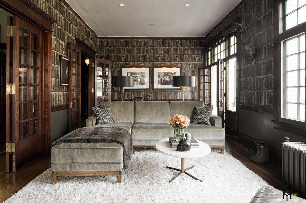 Mystisches interieur einer wohnung dekoration stile design