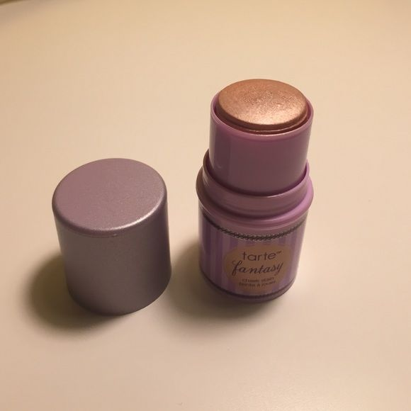 Tarte Fantasy Cheek Stain Tarte fantasy cheek stain highlighter. Travel size 0.17 oz. used once tarte Makeup Luminizer