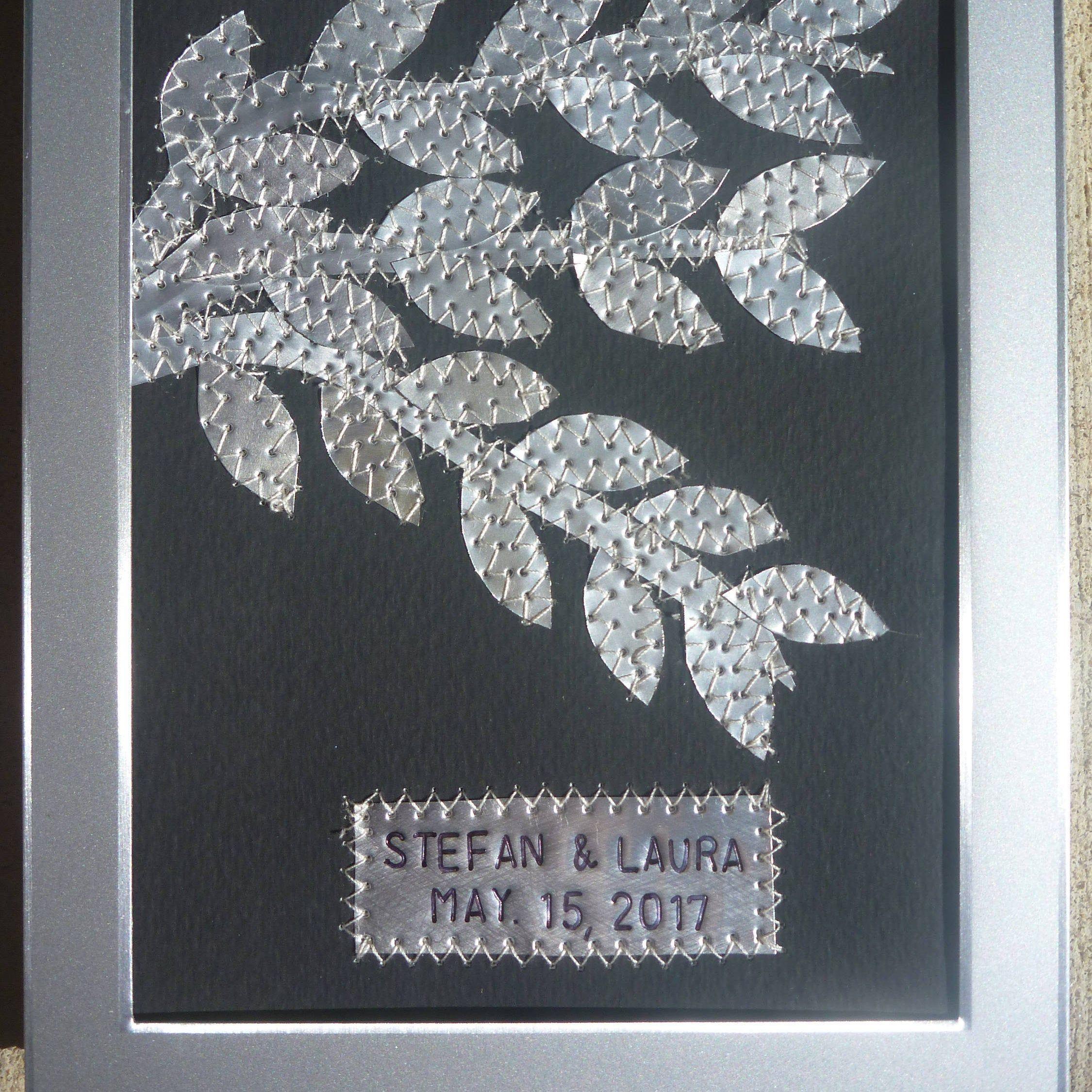 10 Year Wedding Anniversary, Personalized Gift, Customized