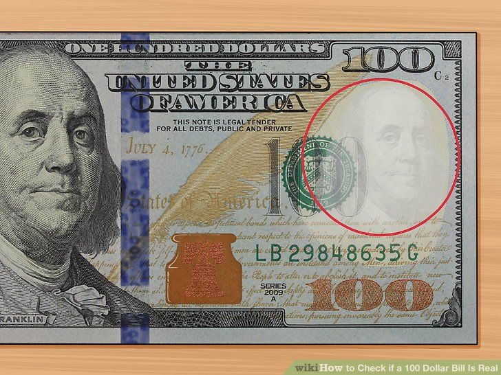 Show Me A Picture Of Real Hundred Dollar Bill 100 Dollar Bill Dollar Bill Bills