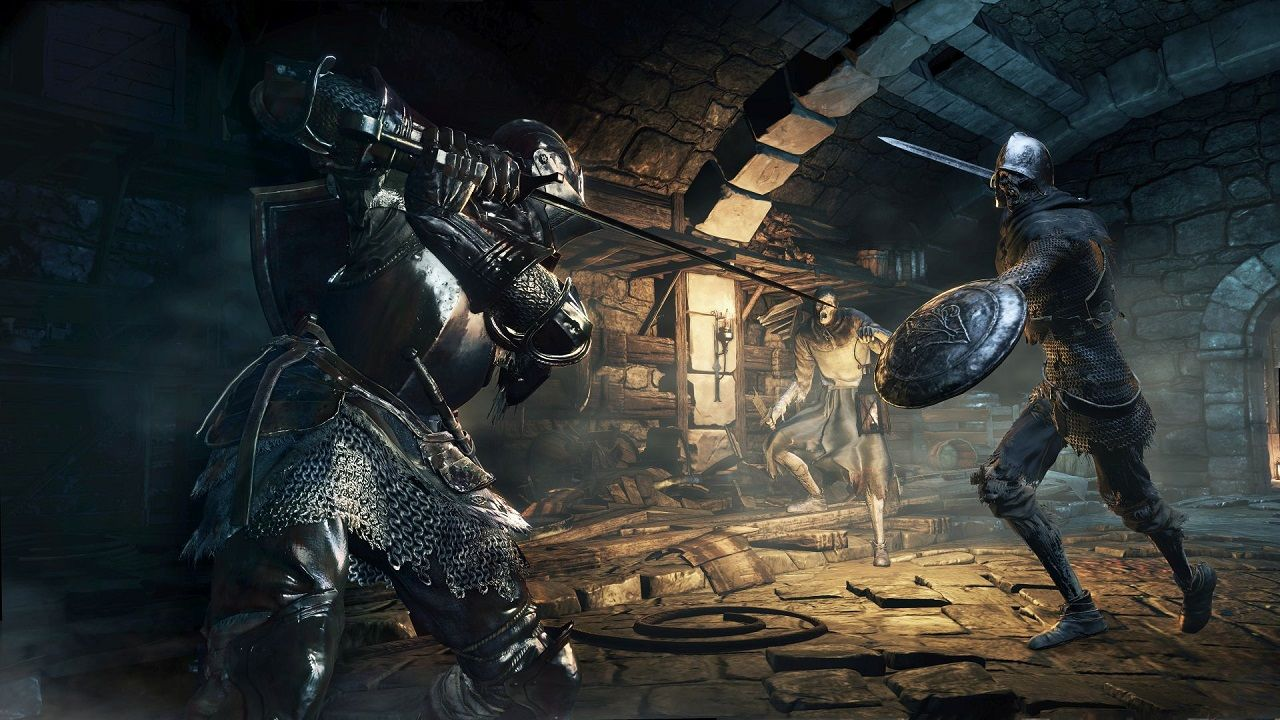 Dark Souls Iii To Embrace The Darkness In April 2016 Dark Souls Dark Souls 3 Demon Souls