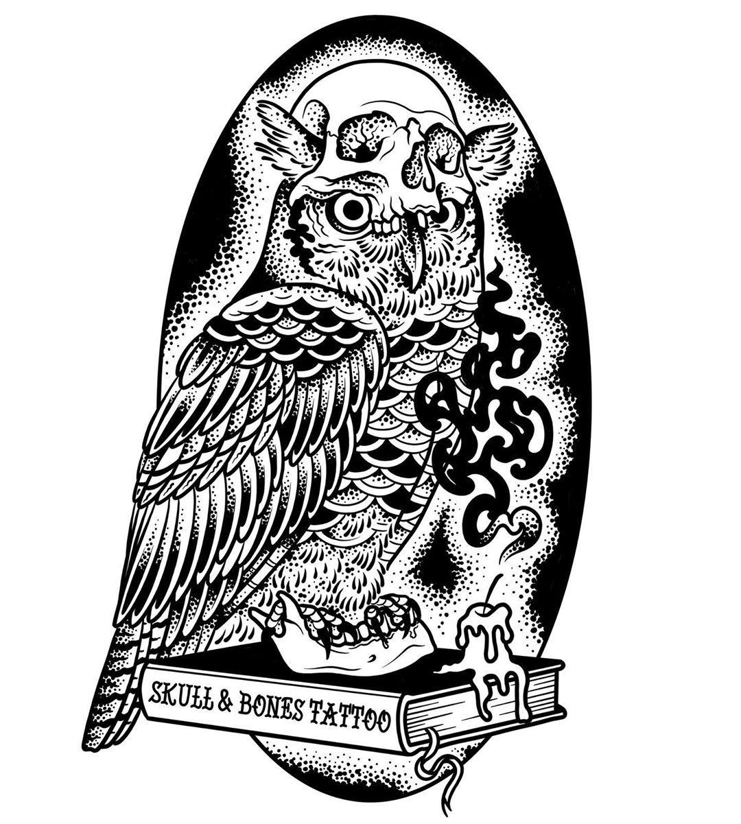 #tattoo #tattooflash #traditional #traditionaltattoo #traditionaltattooflash #traditionalspain #traditionalkings #oldschooltattoo #neotraditional #neotraditionaltattoo #onmissionmachines #tpctattoo #darkartists #blxckink #blackworkers #tattooworkers #flashworkers #oldworkers #owl #skull #candle #book #skullandbones #buho #calavera #libro #ipadpro #ipadproart #ipadprotattooteam #procreate