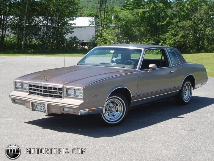 1983 Chevrolet Monte Carlo Chevrolet Monte Carlo Chevy Monte Carlo Classic Cars Muscle
