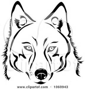 black and white siberian husky clipart - Yahoo Image Search ...