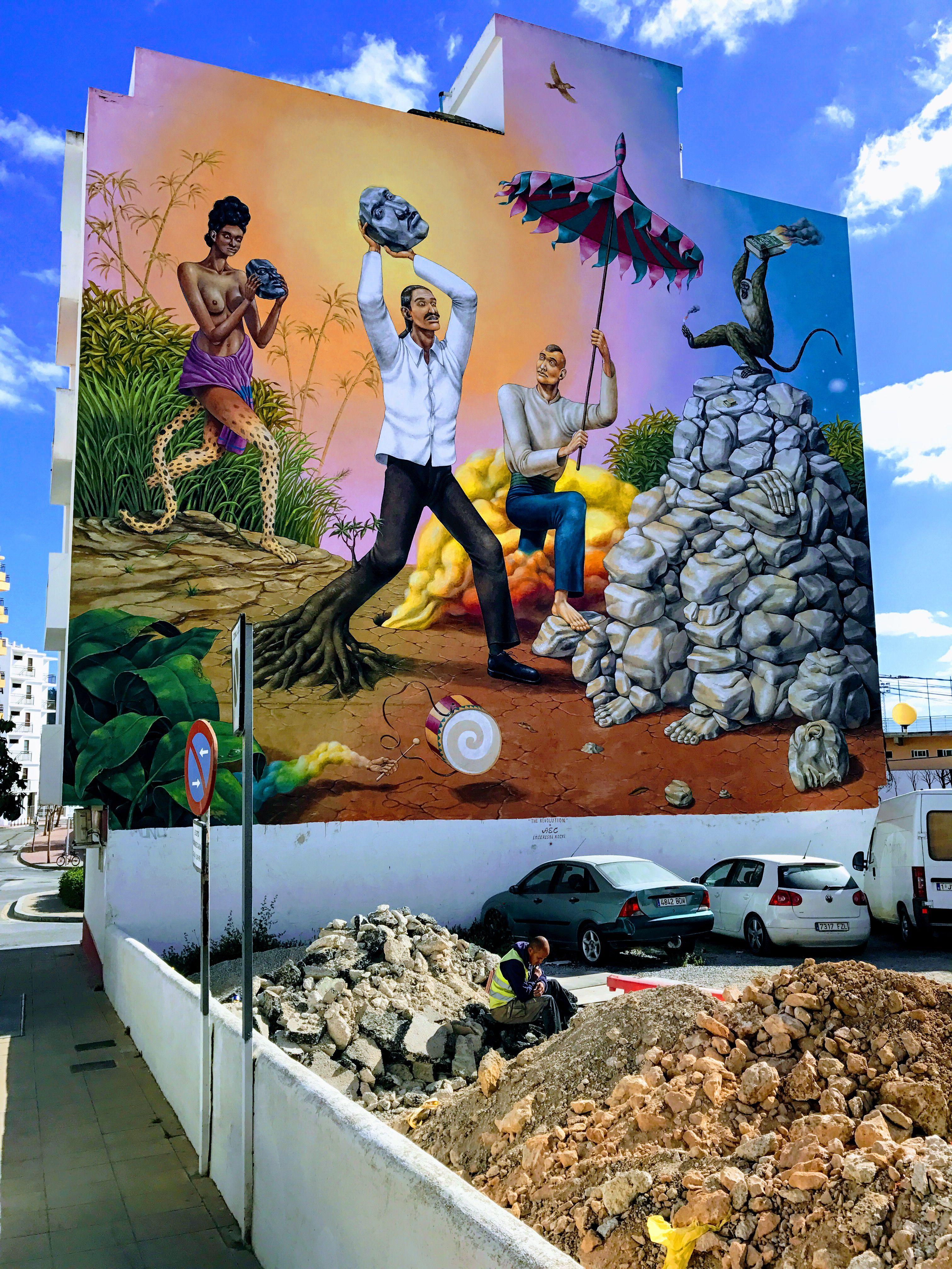 Street art Saint Antonio Street art, Art, My arts