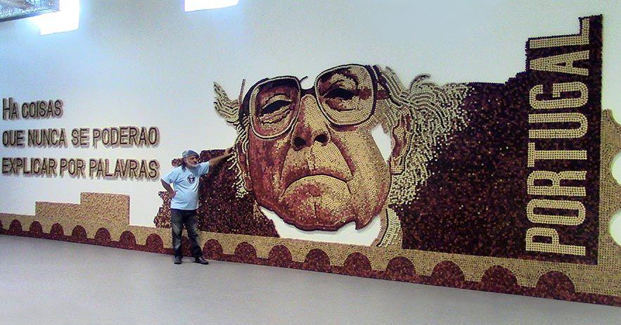 Maior mosaico em cortiça do mundo no Alentejo