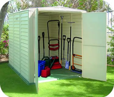 For Long Narrow Areas Try The Duramax Yardmate Sheds These Range From 5x3 To 5x8 5x8 Pictured The Yardmate Incl Vinyl Sheds Duramax Sheds Storage Shed Plans