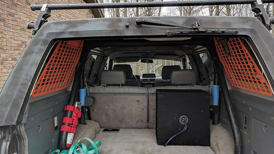 Orangebox Fabrication Window Rack 1st Gen 4runner 4runner 1st Gen 4runner Toyota 4runner