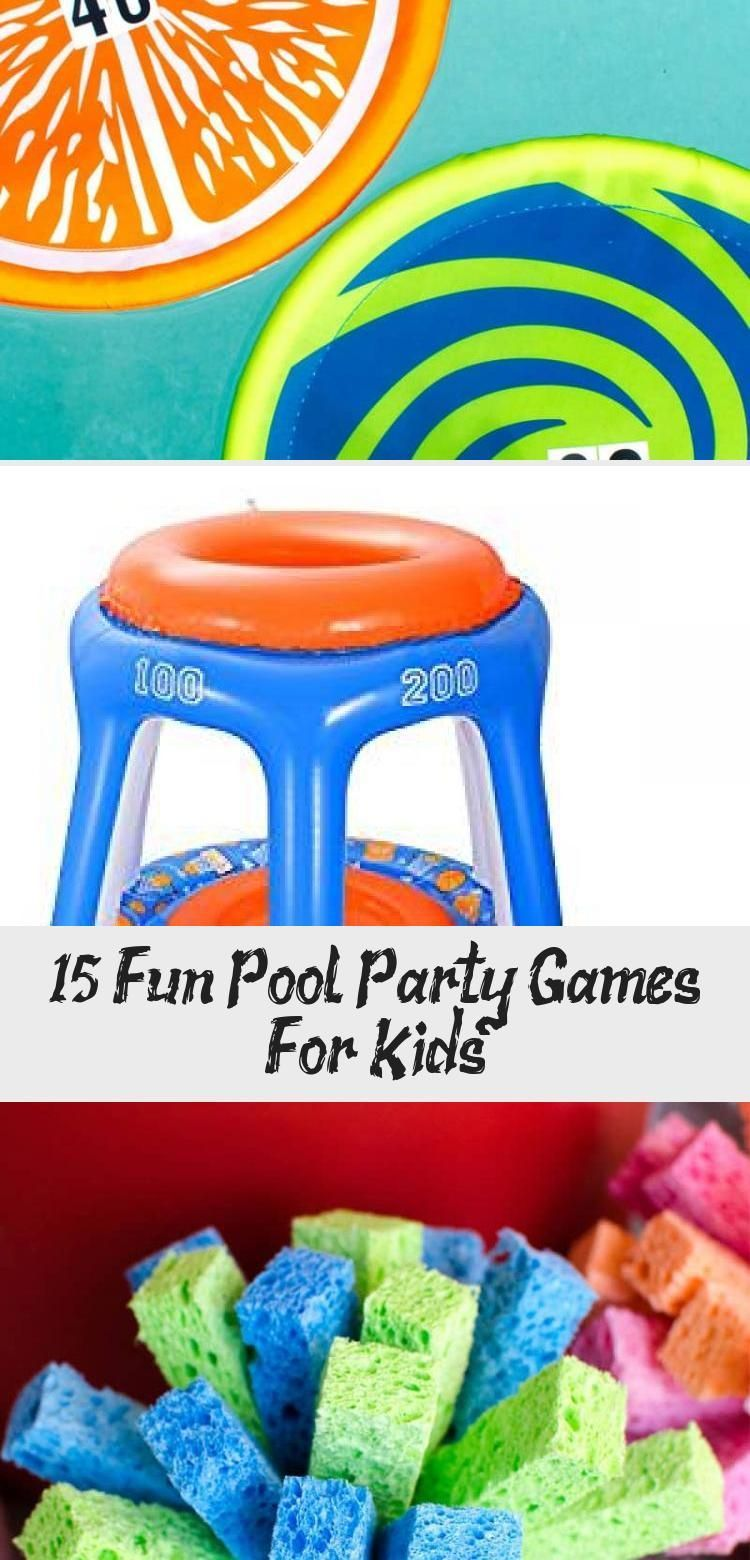15 Fun Pool Party Games For Kids summerpoolparties These