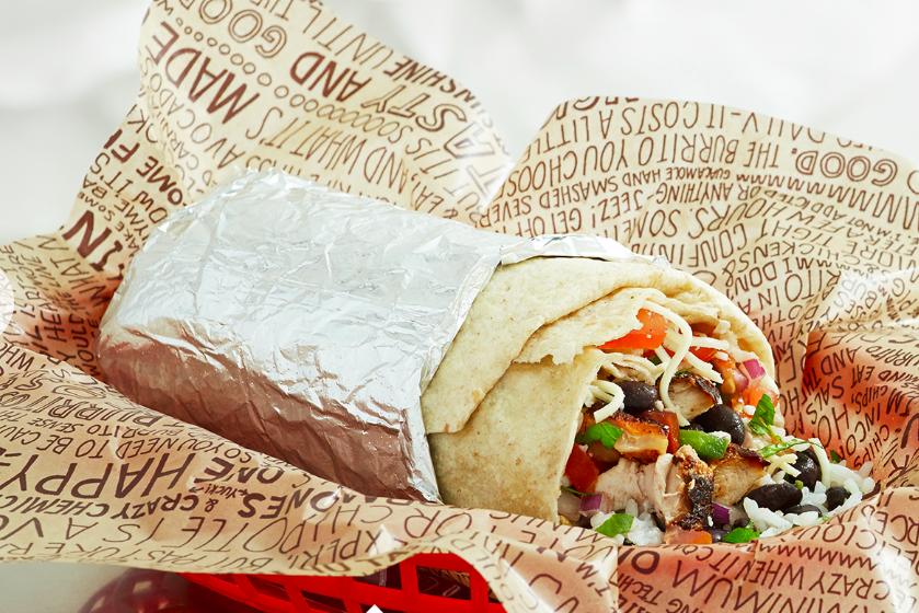 Chipotle Burrito Png