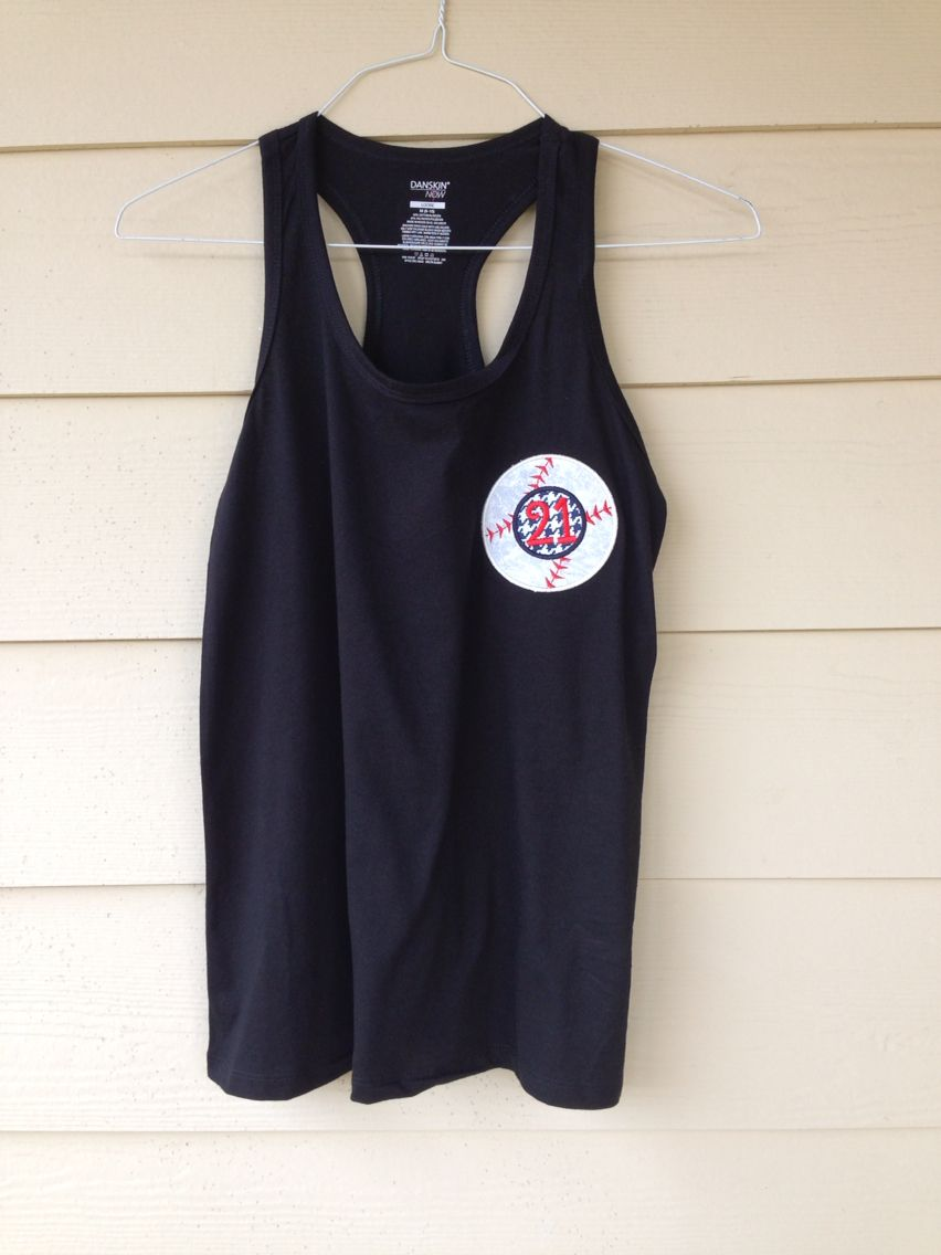 Baseball number pocket tee (With images) Tank top