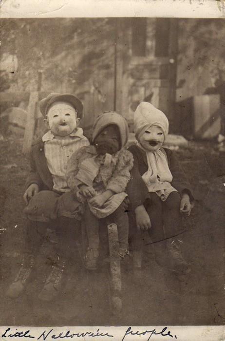 """Little Halloween People"""