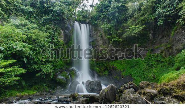 Nature Waterfall Indonesia Stock Photo Edit Now 1262620321 Nature Photography Longexposure Shutterstock Wallpaper Canon Fotografi Australia Indonesia
