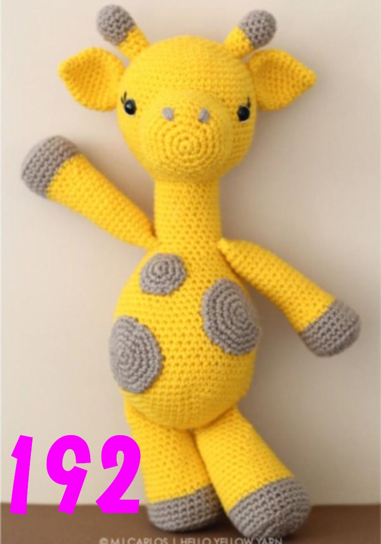 Amo mi jirafa amigurumi   Coats Crafts Argentina, Chile, & Uruguay   1091x765