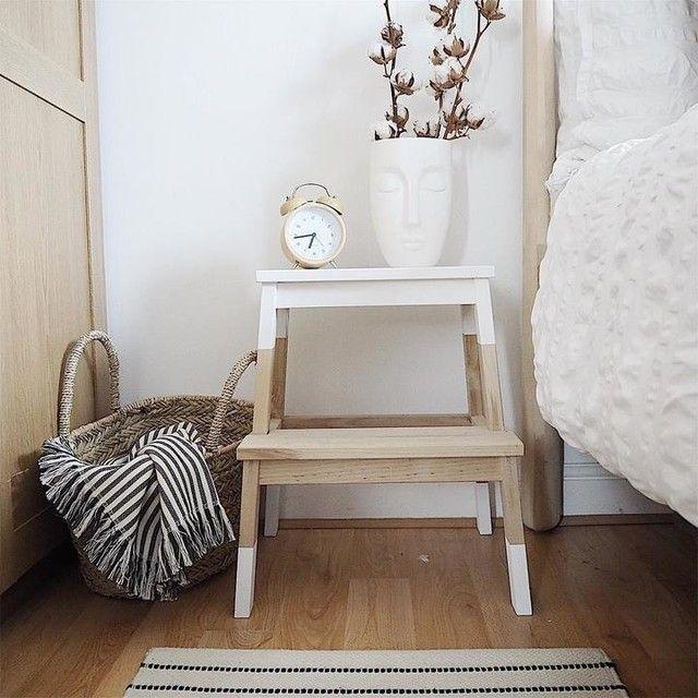 Brilliant Bekvam Step Stool White Ikea Artofit Machost Co Dining Chair Design Ideas Machostcouk