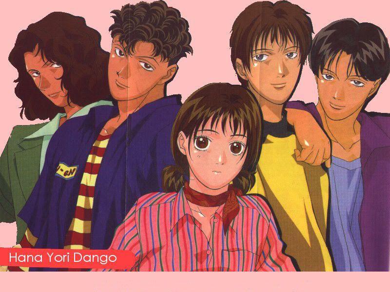 Tsukushi Makino Y El F4 Anime Boys Over Flowers Diy Wedding Flowers