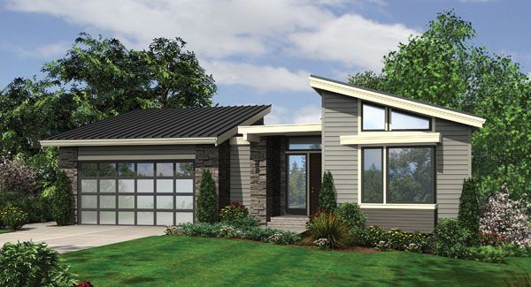 Plan Hhf 8526 1 Story 3242 Total Square Footage Modern Style House Plans Modern Contemporary House Plans Contemporary House Plans