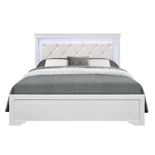 Ebern Designs Causglen Led Upholstered Platform Bed Wayfair In 2020 White Bed Frame Bed With Led Lights Led Beds