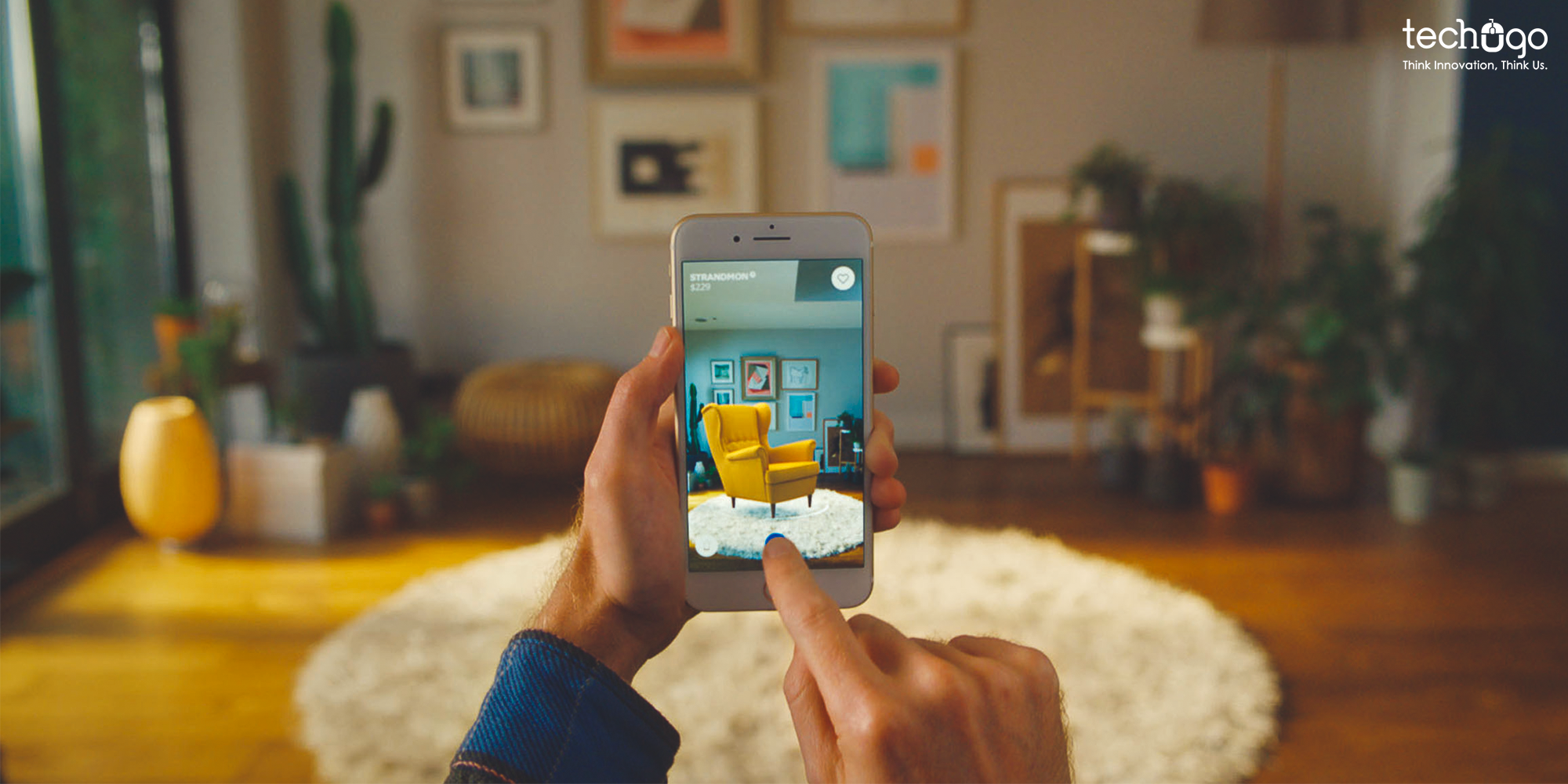 Do you wonder how much does it cost to build an AR shopping app like IKEA? Let Techugo team help you get a successful app for your business. #ARshoppingapp #IKEA #MobileAppDevelopment