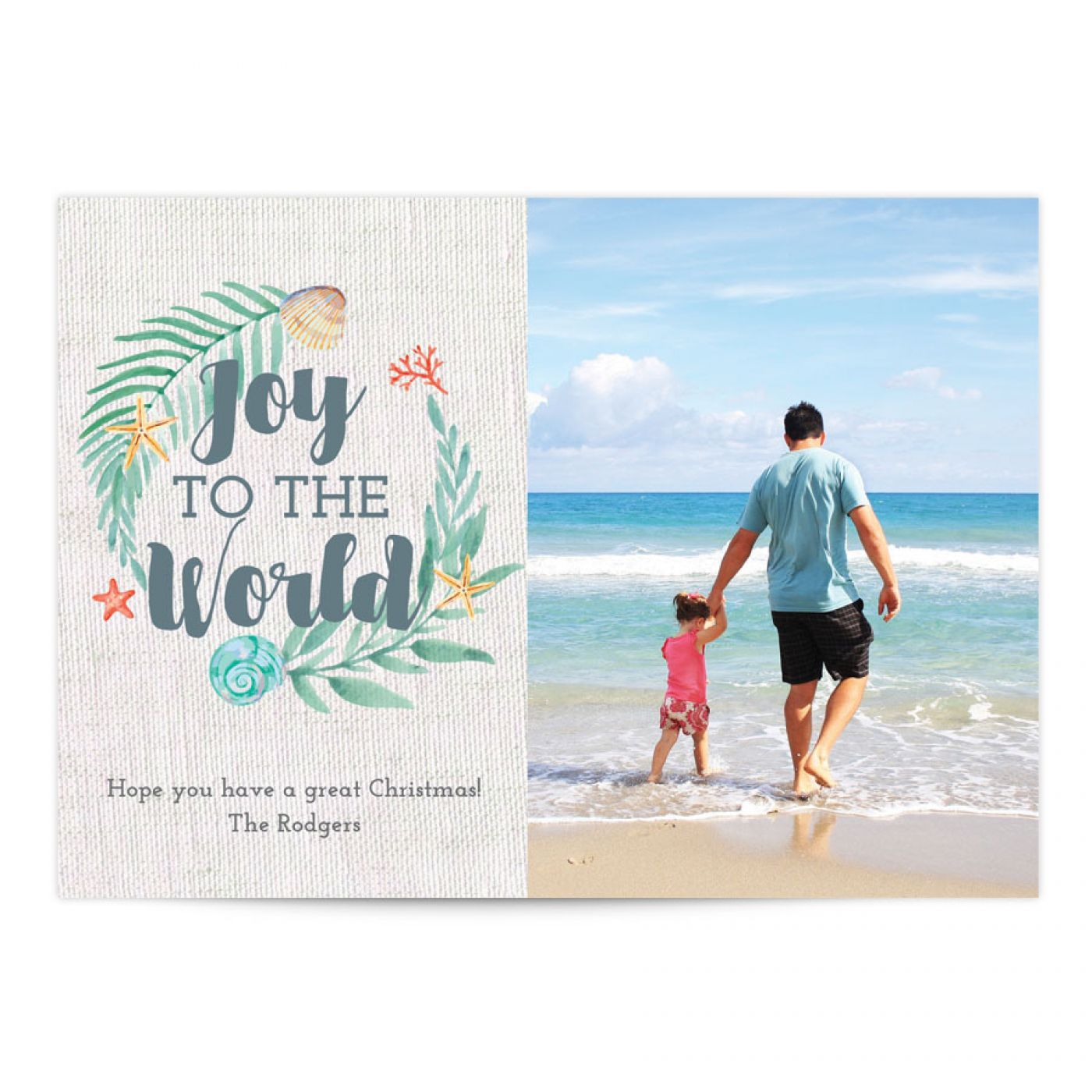 Tropical joy holiday holiday photo greeting card photo greeting tropical joy holiday holiday photo greeting card kristyandbryce Images