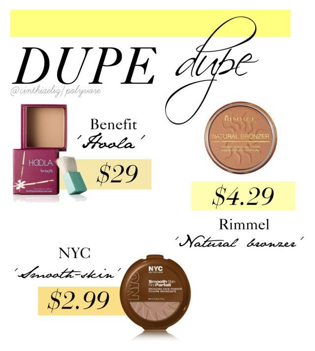 f46c617f1da Bronzer Dupes by cinthiaeliz on Polyvore featuring polyvore, beauty, Benefit  and Rimmel