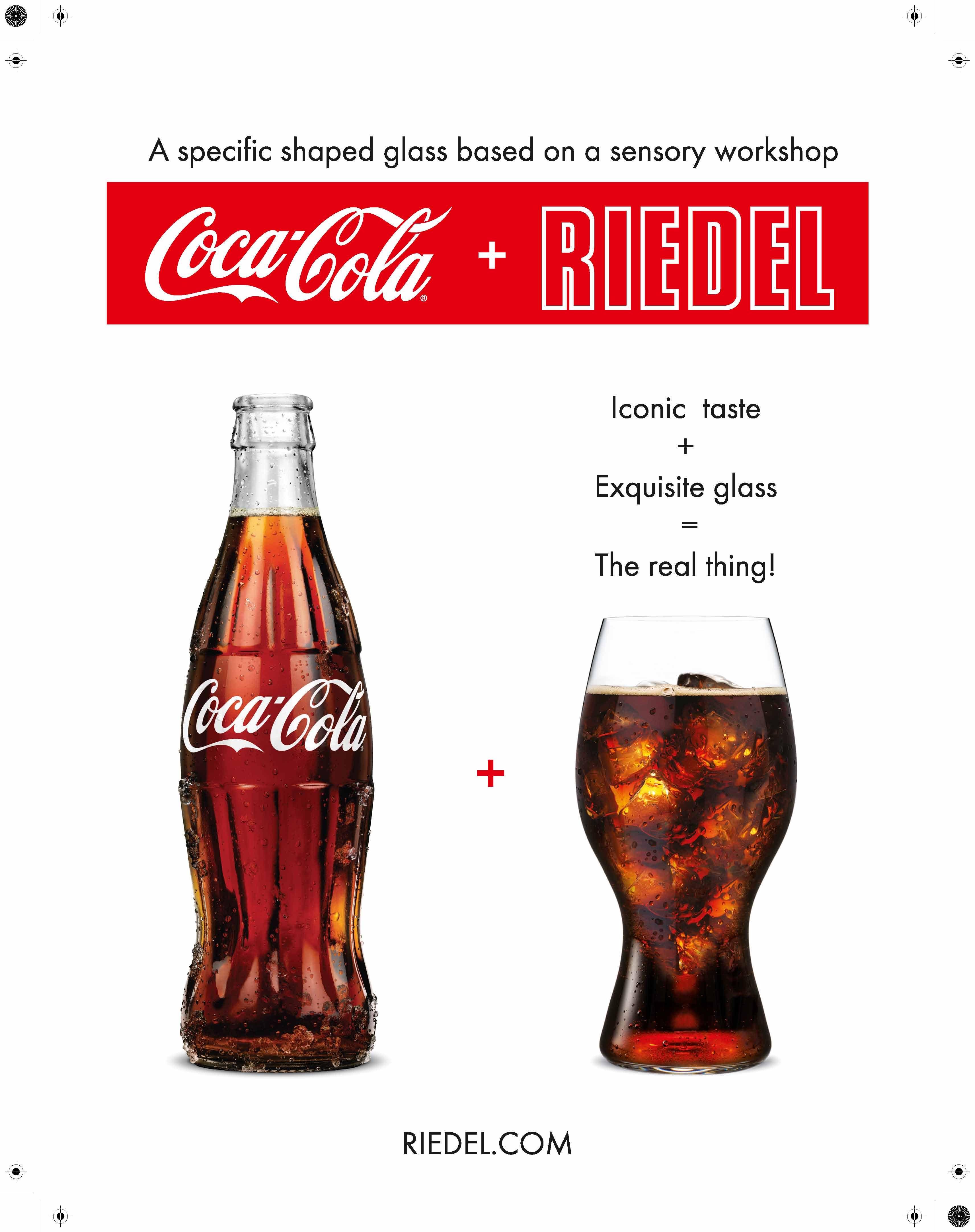 Cocacola Riedel Glass Coca Cola Riedel Glass