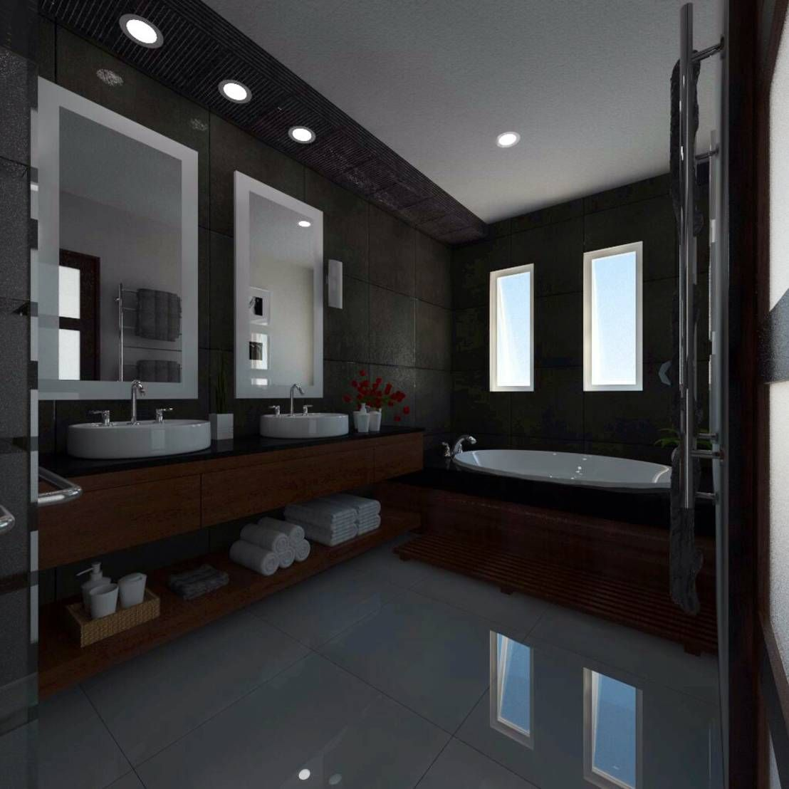 Proyecto baño principal lc de jrm diseño studio arquitectura