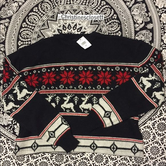 Brandy Melville Christmas sweater New with tags. Brandy Melville Sweaters