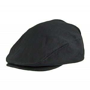 Brixton Hats Hooligan Flat Cap - Black Herringbone  14e7140ed2e