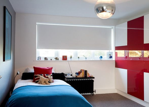 Coole Zimmer Ideen Für Jugendliche Und Modernes Jugendzimmer Einrichten Mit  Schrank Weiß Und Rot