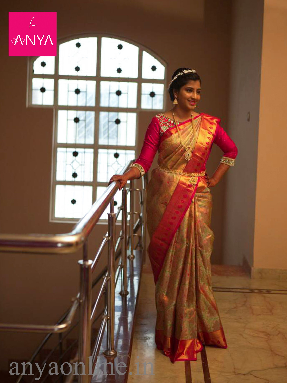 Bridal blouses Coimbatore. Anya customises the best