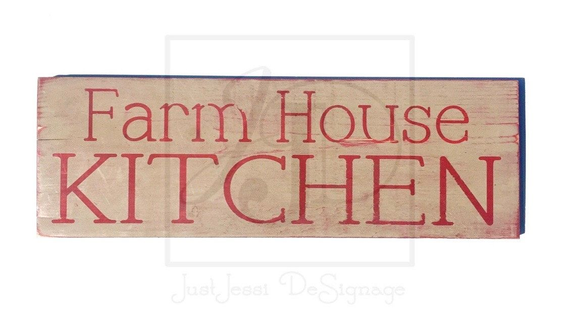 A personal favorite from my Etsy shop https://www.etsy.com/listing/288671037/wooden-sign-farm-house-kitchen