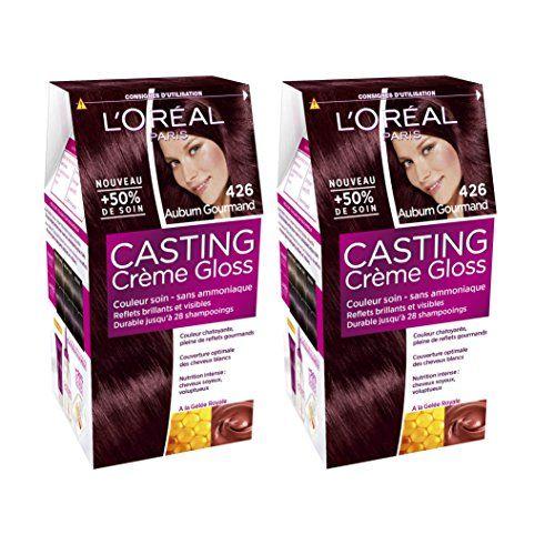 loral paris casting crme gloss coloration reflets sans amoniaque 426 auburn gourmand lot - Coloration Rutilisable