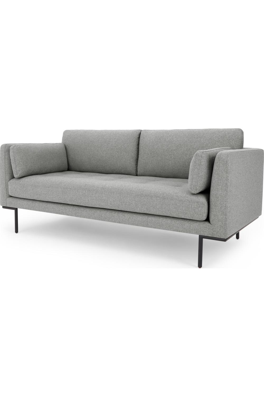 Made Com Canapes 2 Places Gris Sofa Home Decor Furniture