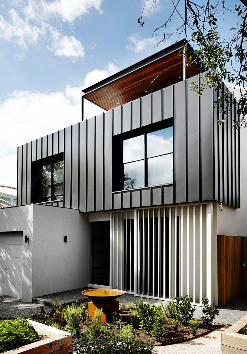 Kleines haus außendesign gallery of toorak house by sisalla interior design  dream houses