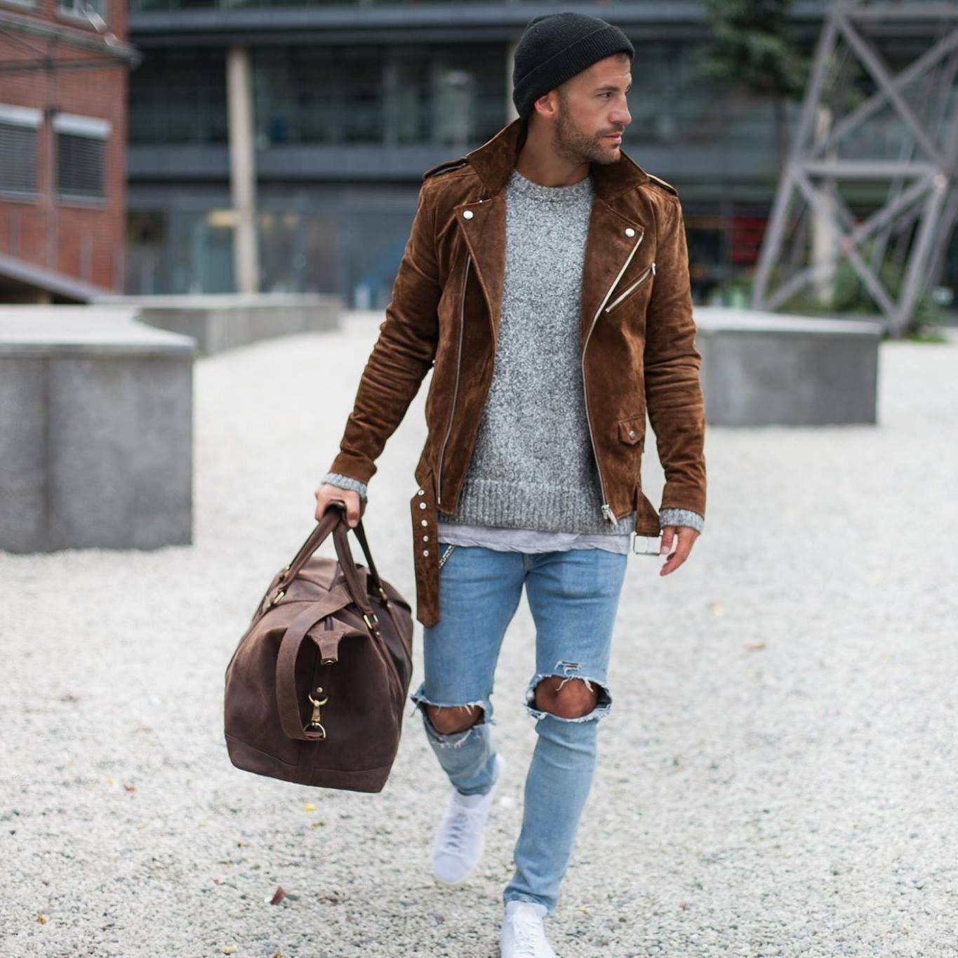 14863b8b1b9 Men street style love the jacket brought to you by Tom Maslanka ...